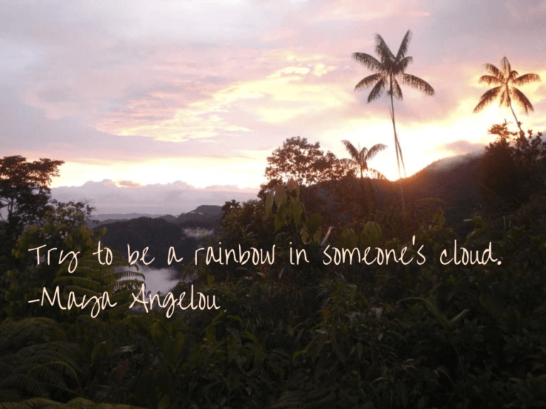 Be a rainbow - Pure Life Adventure in Costa Rica