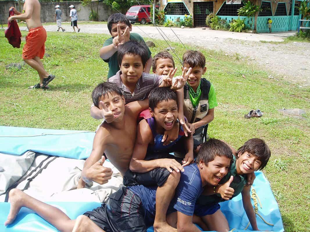 Locals happy - Pure Life Adventure in Costa Rica