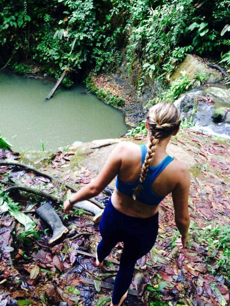 Molly Jumps - Pure Life Adventure in Costa Rica
