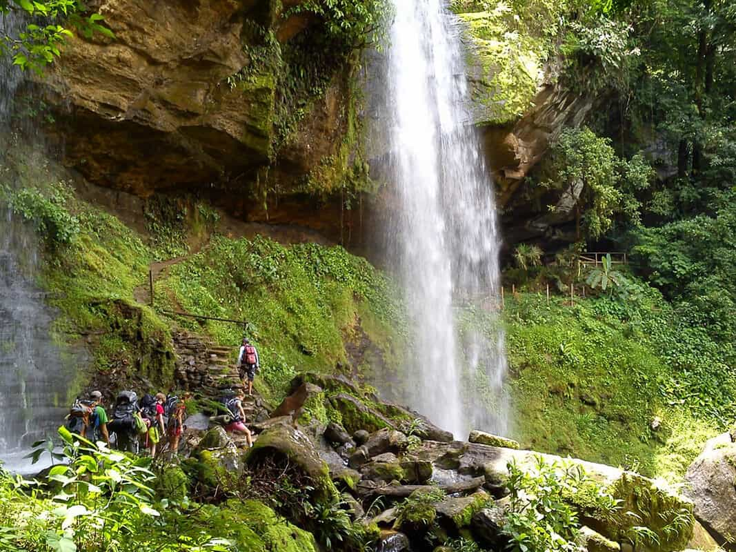 Waterfall - Pure Life Adventure in Costa Rica