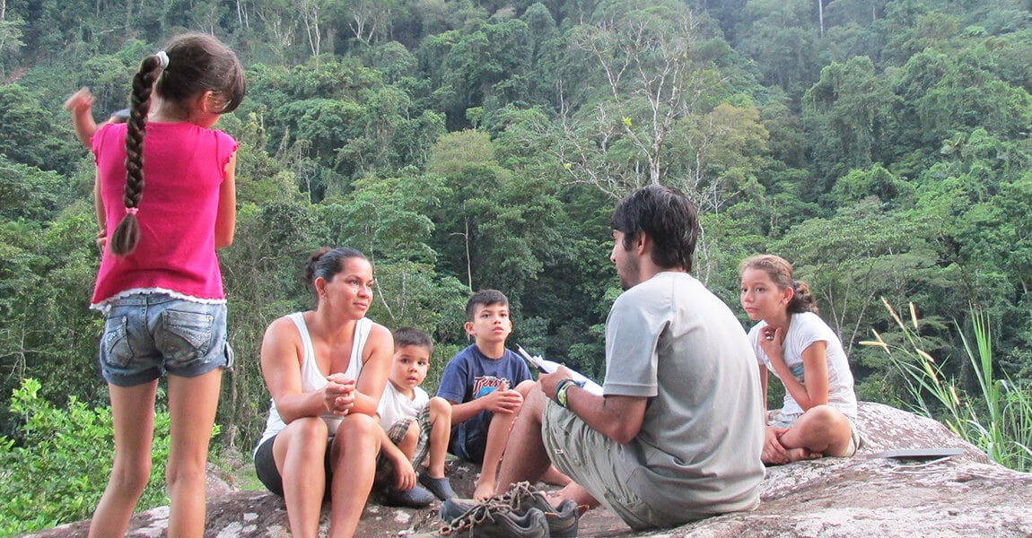 Cultural Immersion during Pure Life Adventure Therapy in Costa Rica