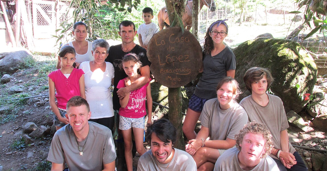 Cultural Immersion during Pure Life Adventure Therapy. Wilderness Therapy for young adults.