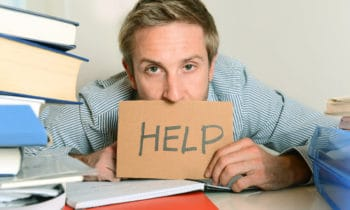 College is Stressful! It is OK to Ask for Help.