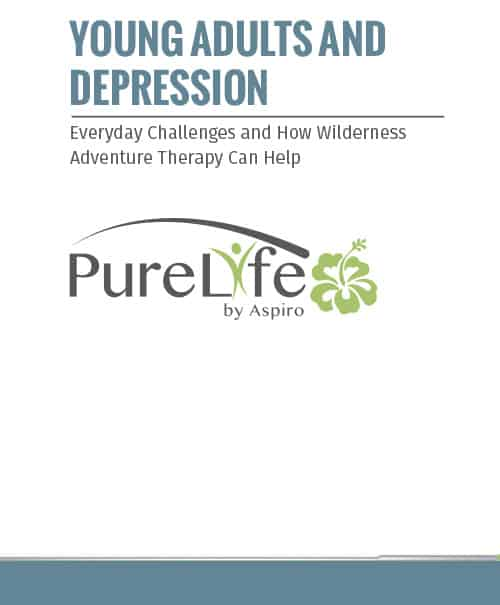 Pure Life Young Adults and Depression PDF image