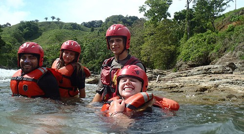 Therapeutic Gap Year Semester - Week 10 - Rafting