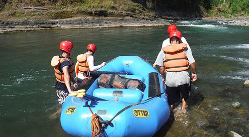 Therapeutic Gap Year Semester - Week 6 - Rafting