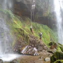 Waterfalls. Wilderness and Adventure Therapy for Young Adults. Pure Life in Costa Rica.