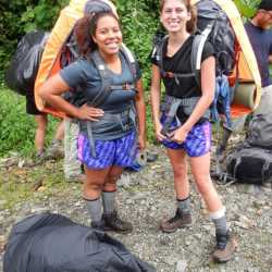 Young adults camping. Wilderness and Adventure Therapy for Young Adults. Pure Life in Costa Rica.